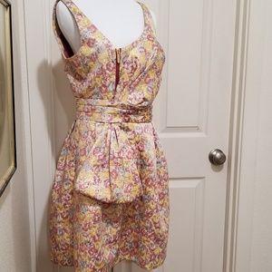 Awesome Zac Posen brocade dress beautiful detail